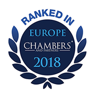 Chambers - Ranked in Europe
